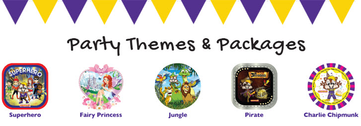 chipmunks party themes