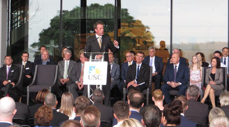 usc-moreton-bay-petrie-campus-opening